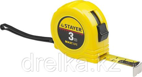 STAYER MaxTape 3м / 16мм рулетка в ударопрочном корпусе из ABS, фото 2