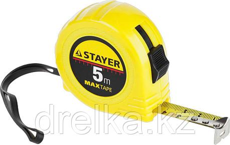STAYER MaxTape 5м / 19мм рулетка в ударопрочном корпусе из ABS, фото 2