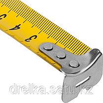 СИБИН  10м / 25мм рулетка в ударостойком обрезиненном корпусе, фото 3
