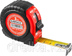 MIRAX  3м / 18мм рулетка в обрезиненном пластиковом корпусе, фото 2