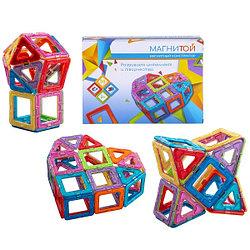 Магнитой  Представляем вашему вниманию детский магнитный конструктор Магнитой с магнитными вставками внутри.