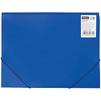 Папка на резинке OfficeSpace А4 синяя # FE2_324