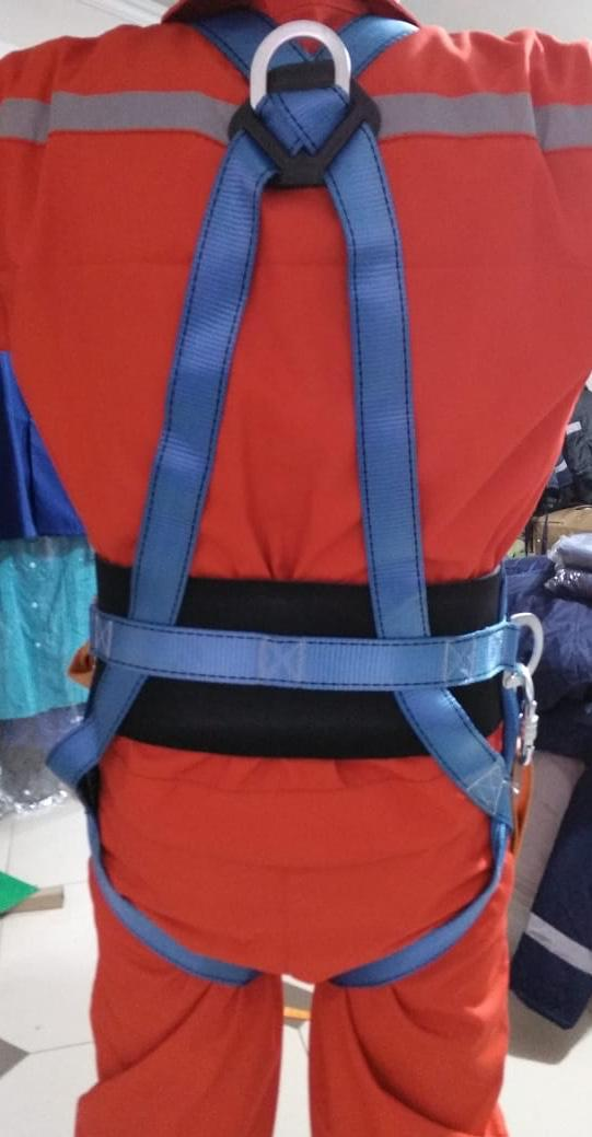Пояс страховочный парашютного типа, Пояс монтажный (Пояс предохранительный)