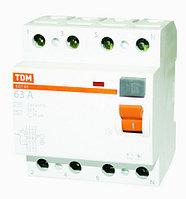 Устройство защитного отключения ВД 1-63S4P 50A 300mA TDM