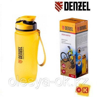 Бутылка спортивная 600 мл. DENZEL 69490, фото 2