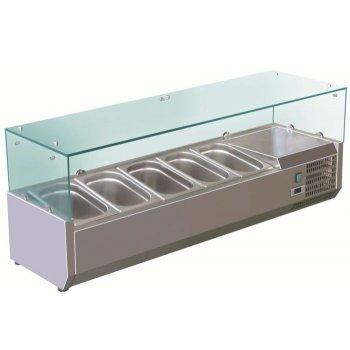 Витрина холодильная Koreco VRX 1200-380 (395II)