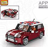 Конструктор LOZ 1111 MINI Cooper машина модель 1:24 аналог Lego Creator 10242, фото 2