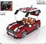 Конструктор LOZ 1111 MINI Cooper машина модель 1:24 аналог Lego Creator 10242, фото 3
