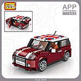 Конструктор LOZ 1111 MINI Cooper машина модель 1:24 аналог Lego Creator 10242, фото 4