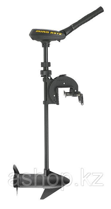 Лодочный мотор электрический Minn Kota TRAXXIS 55, Тяга: 25 кг, Управление: Румпельное, 0,85 л.с. (55 lbs), Цв