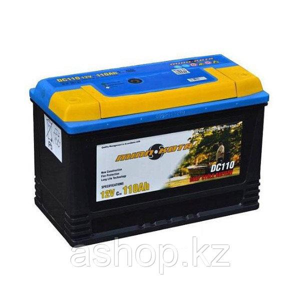 Аккумулятор необслуживаемый Minn Kota MK-SCS110 (12V 110 Ah), Емкость аккумулятора: 110 Ah