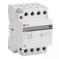 Контактор модульный КМ 32А 4NO (3мод) EKF Proxima