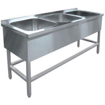 Ванна моечная Hessen ВМЦ 3/15644 нерж.