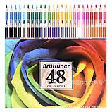 Карандаши масляные oil pencils от фирмы brutfuner 48 цветов, фото 2