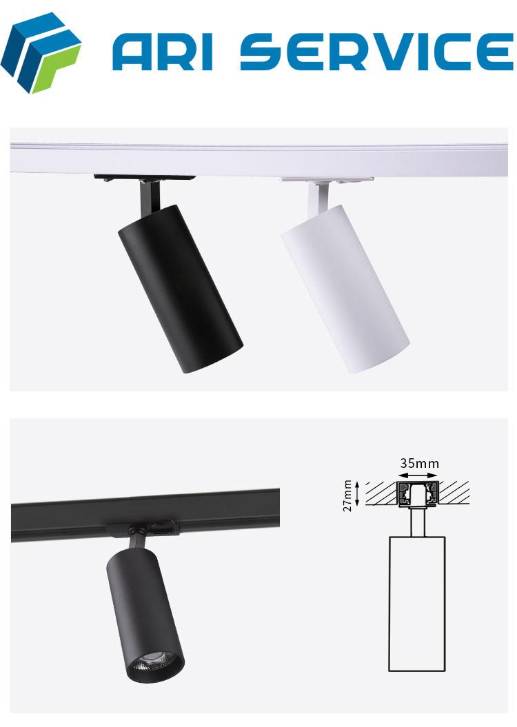LED Спот Дизайнерский Трековый, Открытого монтажа.