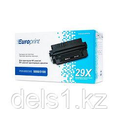 Картридж, Europrint, EPC-4129X, Для принтеров HP LaserJet 5000/5100, 10000 страниц.