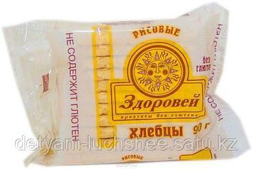 """Хлебцы мини рисовые без глютена  """"Здоровей"""",90 грамм"""