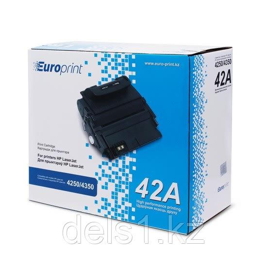 Картридж, Europrint, EPC-5942A, Для принтеров HP LaserJet 4250/4350, 20000 страниц.