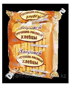 Хлебцы  Гречишно-рисовые без глютена, Здоровей, 90 г
