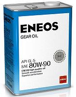 Трансмиссионное масло ENEOS Gear Oil 80W-90 4литра