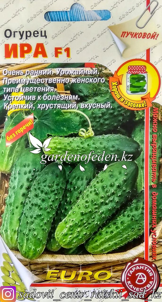 """Семена пакетированные Euro Extra. Огурец """"Ира F1"""""""