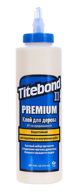 Клей Titebond II Premium столярный влагостойкий 473 мл