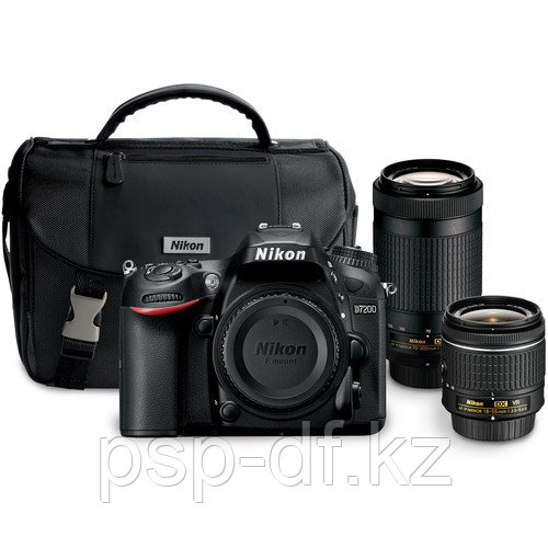 Nikon D7200 kit AF-P 18-55mm + 70-300mm + Сумка Nikon
