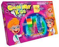Набор для проведения 3х опытов «Магические эксперименты» серия Chemistry Kids (№4 Гидрофобный песок)