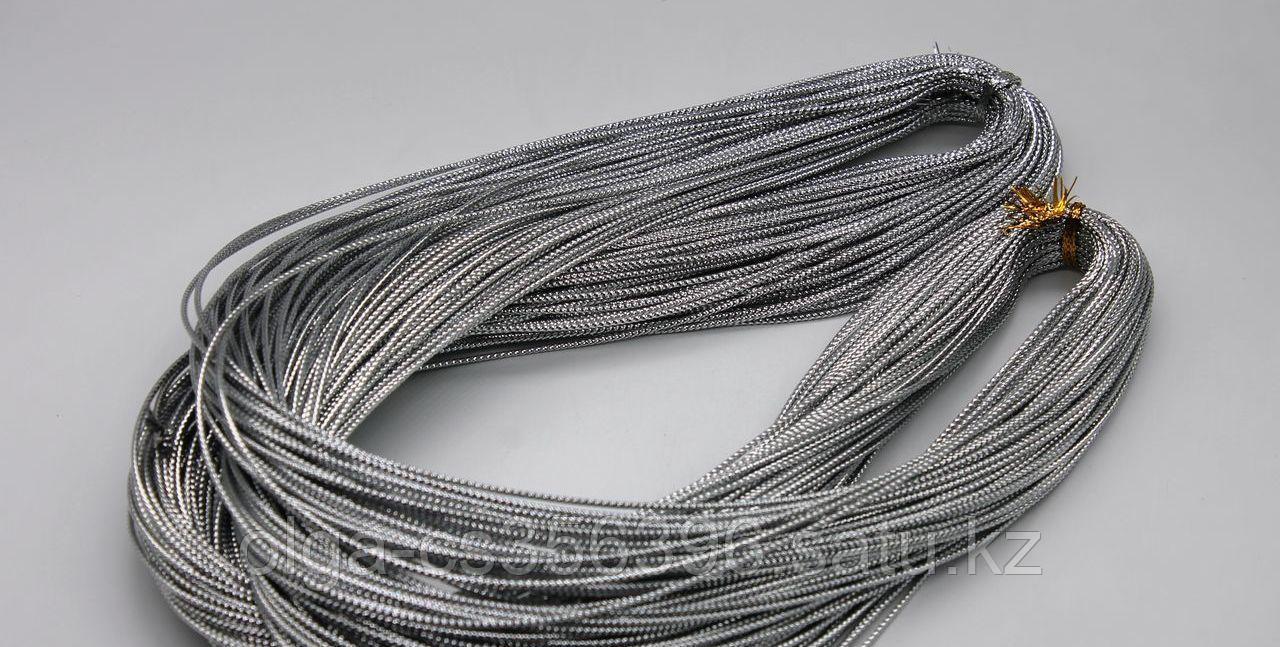 Шнур. Серебро. 1,5 мм.  Creativ 2530
