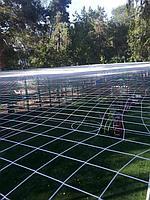 Укладка искусственного газона спортивный 4см и декоративный  с казахскими орнаментами в городе Алматы (Турксибский район) 9