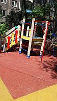Резиновое покрытие на 36 детских площадок в городе Алматы за 2018 год. 2