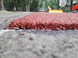 Резиновое покрытие на 36 детских площадок в городе Алматы за 2018 год. 11