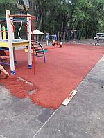 Резиновое покрытие на 36 детских площадок в городе Алматы за 2018 год. 12