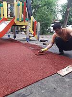 Резиновое покрытие на 36 детских площадок в городе Алматы за 2018 год. 6