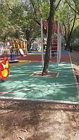 Резиновое покрытие на 36 детских площадок в городе Алматы за 2018 год. 13