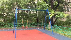 Резиновое покрытие на 36 детских площадок в городе Алматы за 2018 год. 3