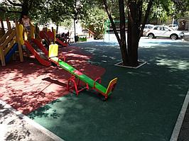Резиновое покрытие на 36 детских площадок в городе Алматы за 2018 год. 5