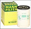 Масляный фильтр MANN W719\27 железный