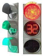 Светофор дорожный ДС7-25