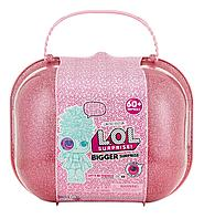 LOL Bigger Surprise ЛОЛ большой розовый чемодан, фото 1