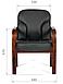 Кресло для посетителя Chairman 658, фото 4