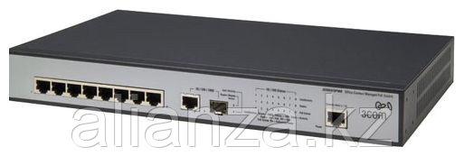 JD877A Коммутатор HP V1905-8-PoE Switch(Web-Managed,8*10/100+1*10/100/100 or SFP,PoE,19'')