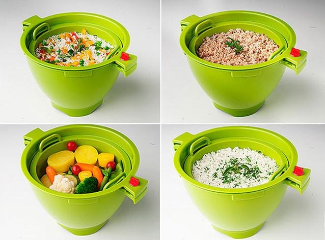 Волшебная кастрюля для микроволновки (Magic meal)   РасПроДажа!!!