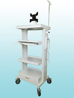Стойка передвижная для эндоскопических аппаратов и устройств