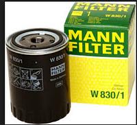 Масляный фильтр MANN W 830\1 железный