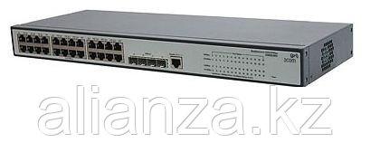 JE008A Коммутатор HP V1910-24G-PoE Switch (Managed, 24*10/100/1000 + 4 SFP, static routing, PoE 170W 19'')