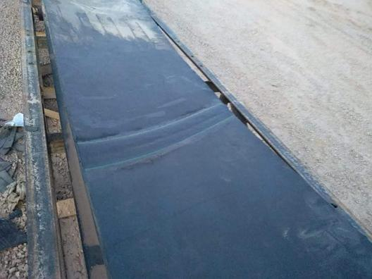 Стыковка резинотканевой конвейерной ленты методом холодной вулканизации., фото 2