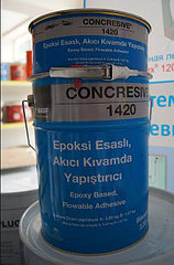 MASTERBRACE ADH 1420 (CONCRESIVE 1420), компонент, В -Двухкомпонентный клей на основе эпоксидной смолы.