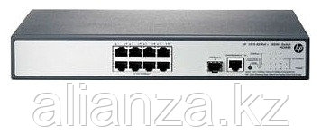 "JG349A Коммутатор HP 1910-8G-PoE+ (65W) Switch (Web-managed, 8*10/100/1000 + 1 SFP, static routing,PoE+, 19"")"
