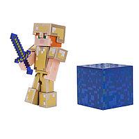 """Minecraft Набор """"Алекс в золотой броне"""""""